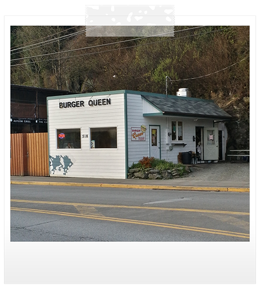 best food in ketchikan at Burger Queen